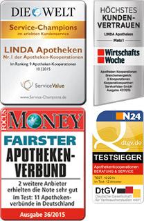 LINDA Servicesiegel