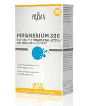 PRIMA Magnesium 300 + Vitamin E