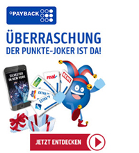 PAYBACK Joker Aktion 6.0